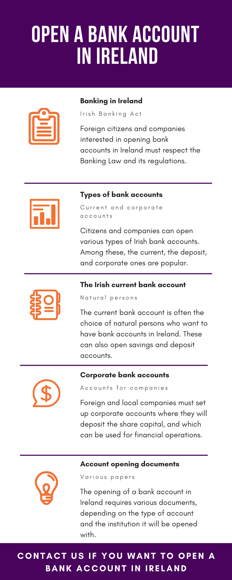 Open a Bank Account in Ireland